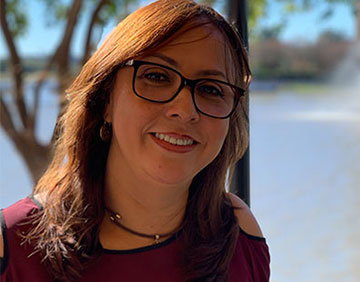 Marivel, senior dental assistant at Cornerstone Dentistry in Sugar Land, TX
